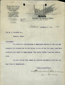 1893 San Francisco California (CA) Letter Ames and Harris J.P. Ames E.P. Harris