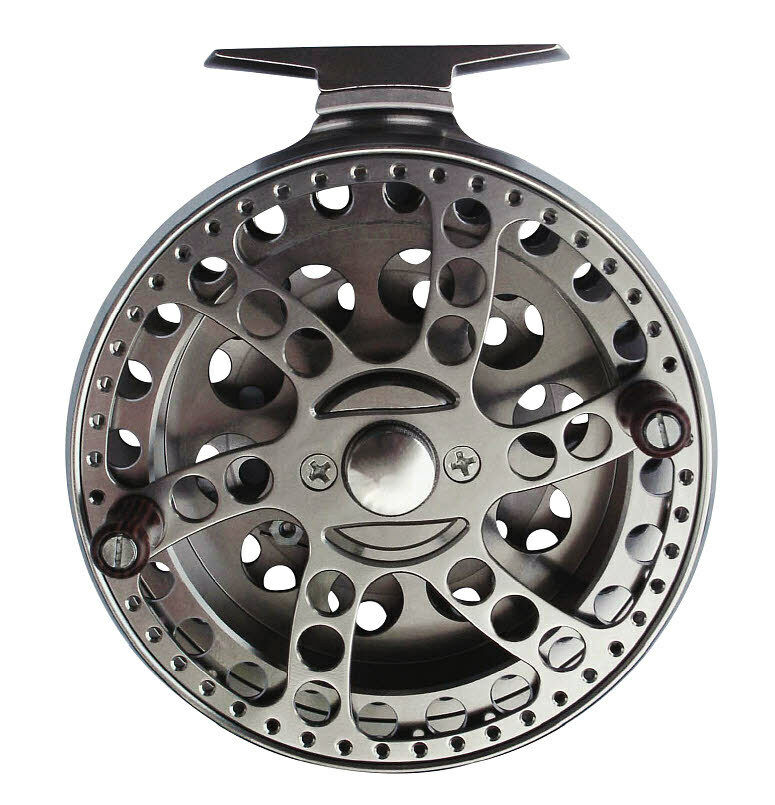 OKUMA SHEFFIELD CENTRE PIN  REEL COARSE TredTING RIVER BARBEL CHUB FLOAT FISHING  no tax