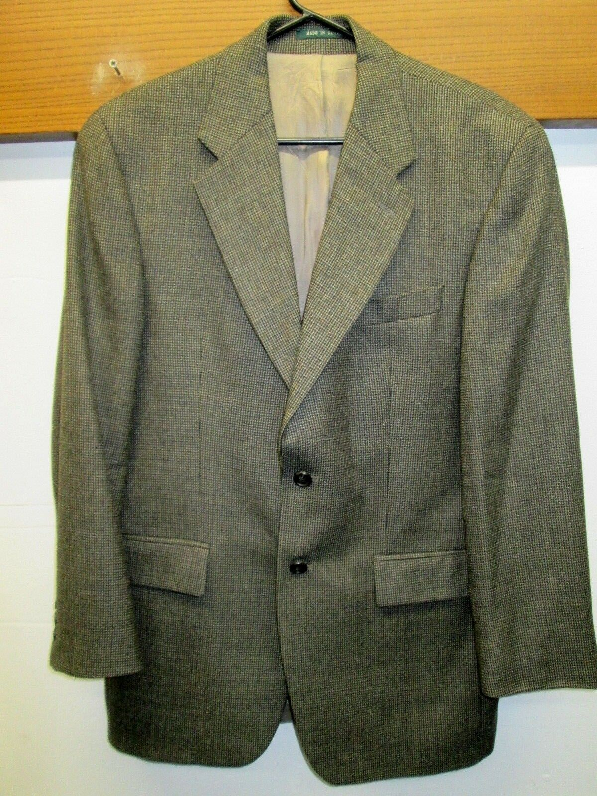 EUC  Ralph Lauren Grün Label Blazer Sport Coat 2 btn 100% lambswool 38R Canada