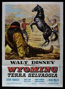 Manifesto-Wyoming-Terra-Salvaje-El-Wild-Country-Walt-Disney-1971-M68