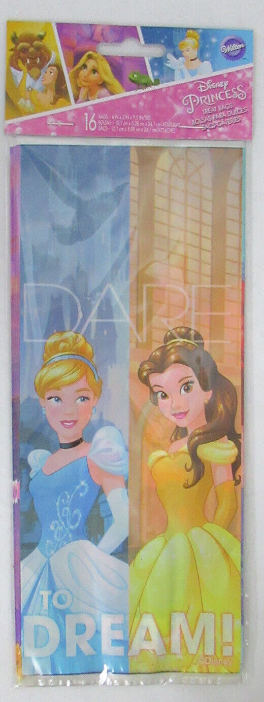 Wilton Disney Princess Little Mermaid Ariel 16 Count Treat Bags Assorted