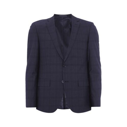 Pierre Cardin 2-Bouton-Veste de sport en pur laine bleu marine Hommes Costume NEUF