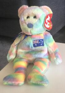 Ty Beanie Baby - Aussiebear (25 January 2003)