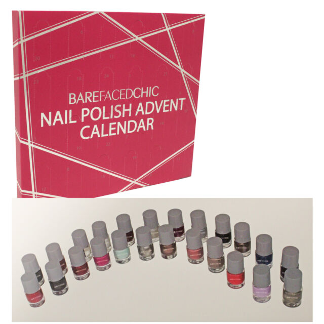 Countdown to Merry Christmas! VB™ Line Advent Calendar 24 Peel Off Nail Polish