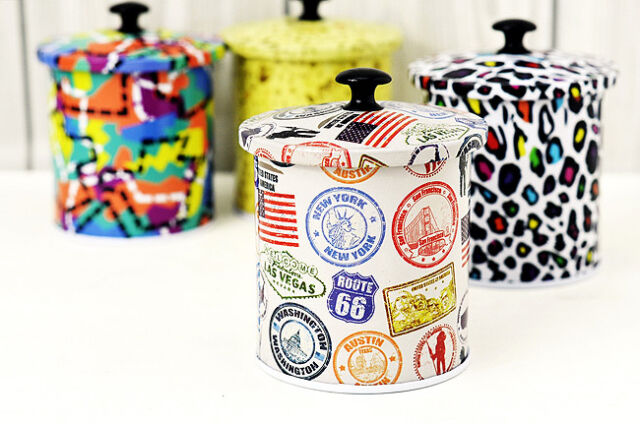Damp-proof Tea Food Storage Tins canister Boxes Caddy 9 Style Buy 5 get 1 Free