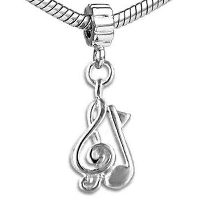 Swimming Symbol European Dangle Bead Charm Sterling Silver Swimmer Disc Charm for European Bracelet