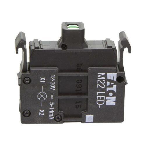 M22-LED-B LED-Element 24 V DC blau Frontbefestigung Eaton 218057
