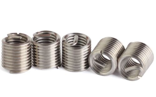12 Pcs Select M10 to M16 Stainless Steel Helicoil Thread Repair Inserts
