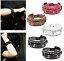 Punk-Leather-Bracelet-Rock-Stud-Chain-Cuff-Bangle-Adjustable-Wristband-Bracelet thumbnail 1