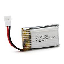 2Pcs 702030 3.7V 300mAh LiPo Li-Polymer Battery for MP3 MP4 Model toys High Rate