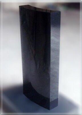 Granit Konvex China Black Neu!! 90x45x14cm Schnelle Lieferung Grabstein