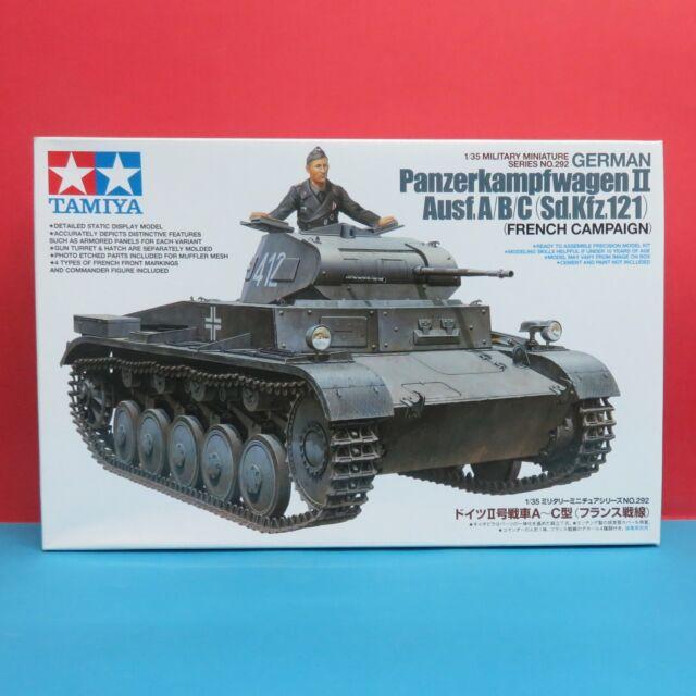 Tamiya 1/35 German Panzerkampfwagen II Ausf.A/B/C (French Campaign) model #35292