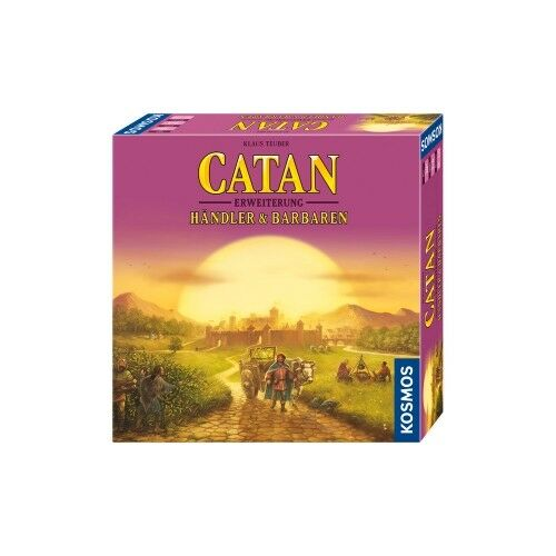 The Settlers of Catan - Dealer and Barbarians 2-4 Players