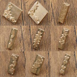 Image Is Loading Brass DIY Custom Made Flower Leather Stamp Logo