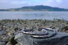 Vikings IRON BRACELET JEWELERY torc Celtic Blacksmith pure iron