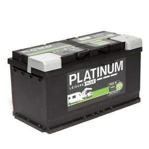 12V-100AH-Platinum-LB6110L-HD-Deep-Cycle-Low-Height-Leisure-Battery-3yrs-Wrnty