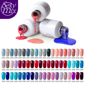 Sexy-Mix-7ml-Nail-UV-Gel-Polish-Soak-Off-nail-Art-LED-Gel-Varnish-Manicure-Salon