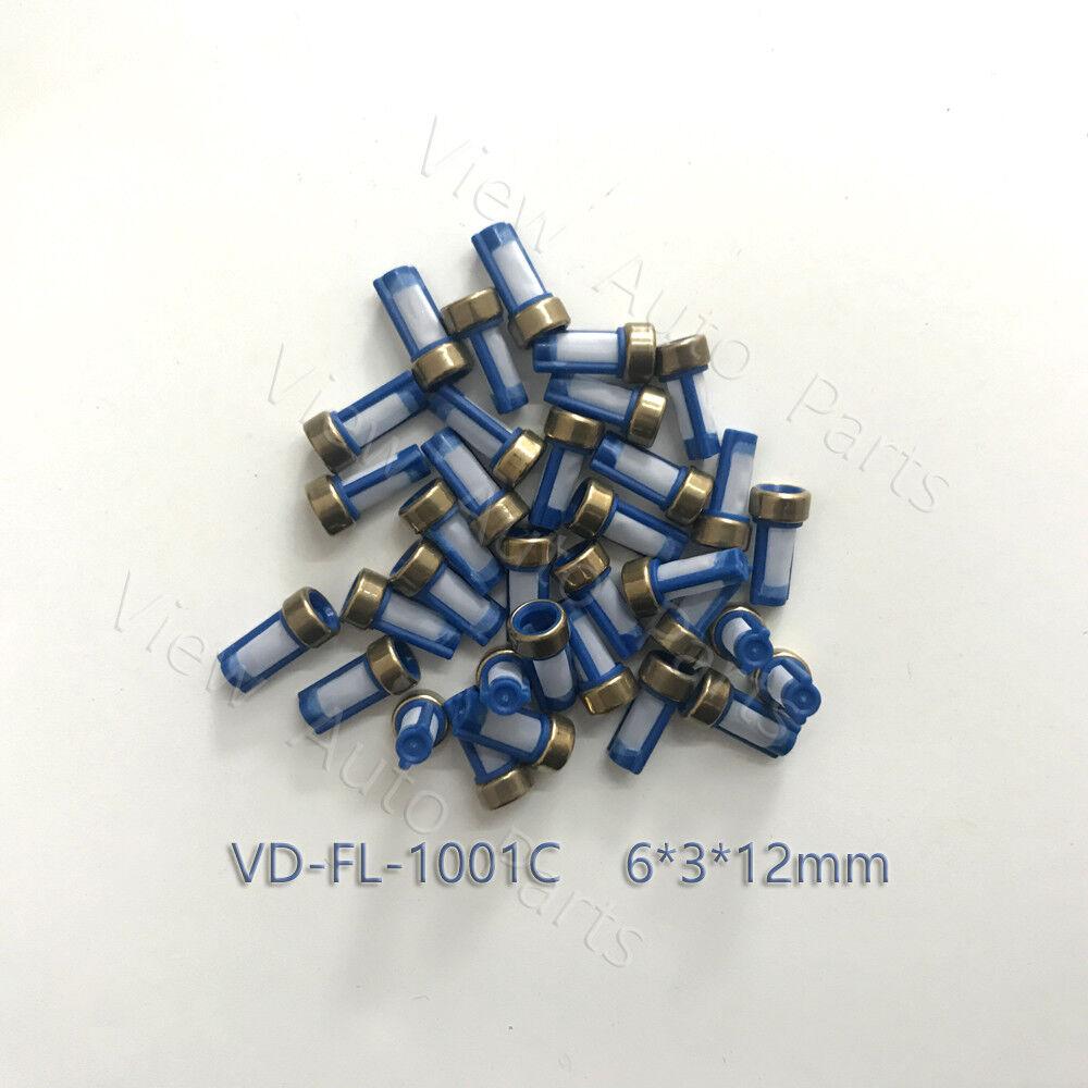 100 Pcs Autos Automotive Fuel Injector Micro Basket Filter 6*3*12mm For ASNU03C