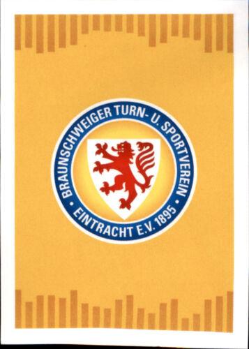 TOPPS Bundesliga 2017//2018 Sticker 281 Eintracht Braunschweig Logo