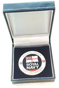 Royal-Navy-Crested-Military-Enamel-Commemorative-Collectors-Coin-Gift-Box