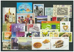 Slowenien-Jahrgang-2009-postfrisch-MNH