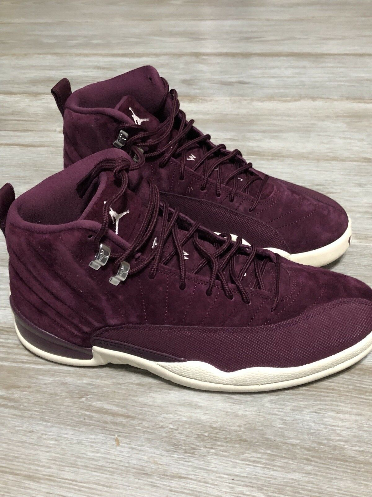 nike air bordeaux jordan 12 retro - bordeaux air - größe. ca8ca5