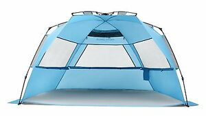 Pacific-Breeze-Easy-Setup-Beach-Tent-Deluxe-XL-New