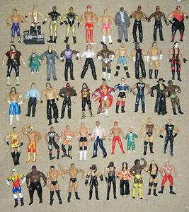 WWE-WRESTLING-ACTION-FIGURE-CLASSIC-SERIES-JAKKS-TNA-MARVEL-ELITE-MATTEL-WWF-WCW