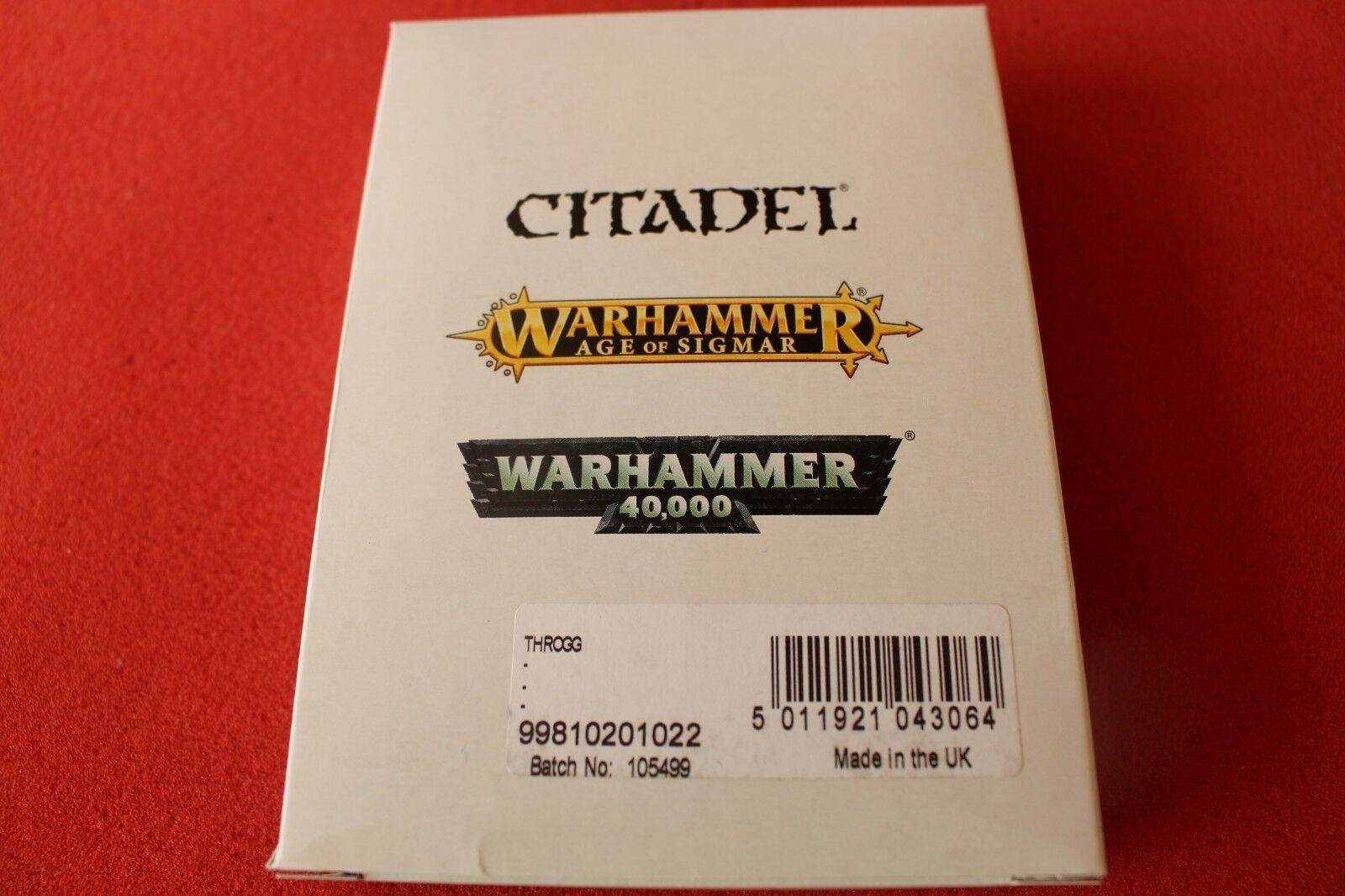 Games Workshop Warhammer Throgg King of the Trolls NIB New Finecast Troll GW OOP