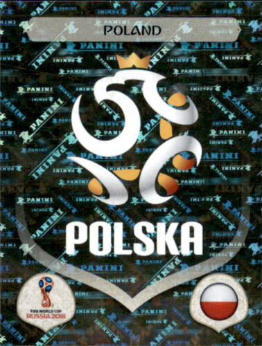 Sticker 592 Polen Panini WM 2018 World Cup Russia Emblem Polen