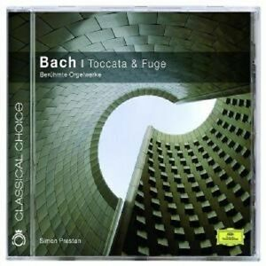 Simon-Preston-034-Toccata-amp-scanalatura-Bach-034-CD-NUOVO