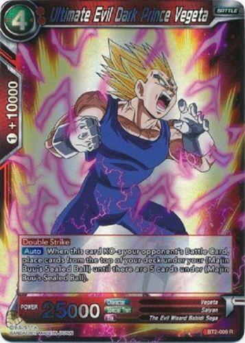 Dragon Ball Super BT2-009 Ultimate Evil Dark Prince Vegeta R