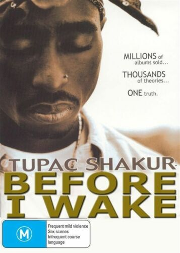 1 of 1 - Tupac - Before I Wake (DVD, 2014)--REGION 4-Brand new-Free postage
