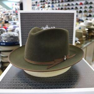 30d9382e STETSON STRATOLINER SPECIAL EDITION SAGE FUR FELT C-CROWN DRESS HAT ...