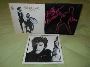 Billy Burnette & Fleetwood Mac Try Me, self titled, Rumours 3 Lps Lot!