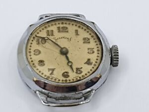 Vintage-Services-Mechanical-Gentleman-039-s-Wrist-Watch-for-Repair-Vintage-Watch