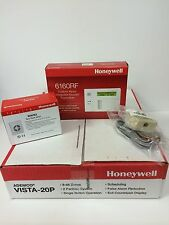 Honeywell Vista 20P, 6160RF Keypad with 5881 ENH receiver,  siren, jack & cord