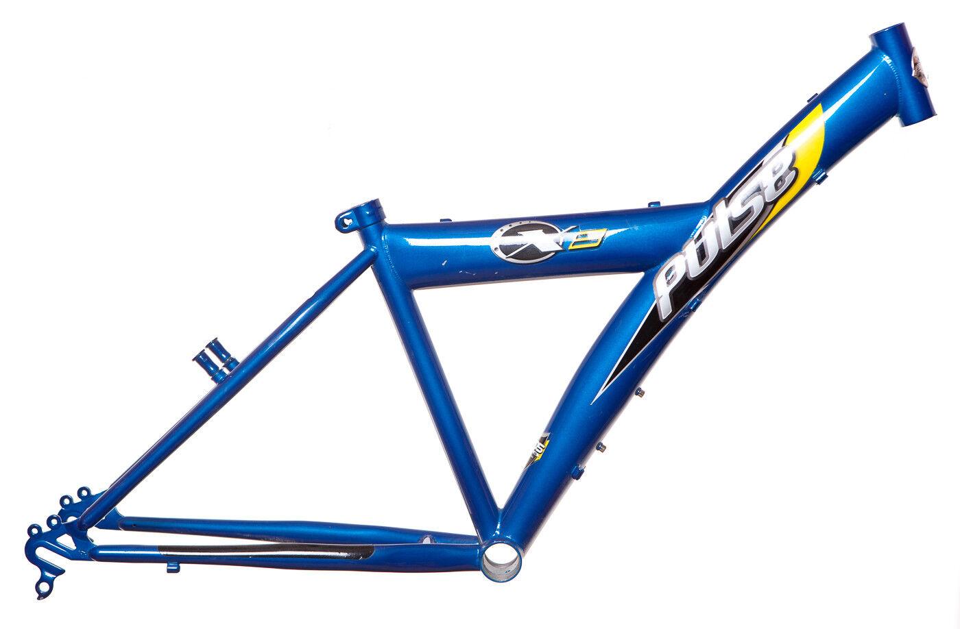 Pulse  X 8 24  Bicicleta Cuadrado de Bicicleta (Tamaño 14 ) Turquesa Azul Freno  tienda en linea