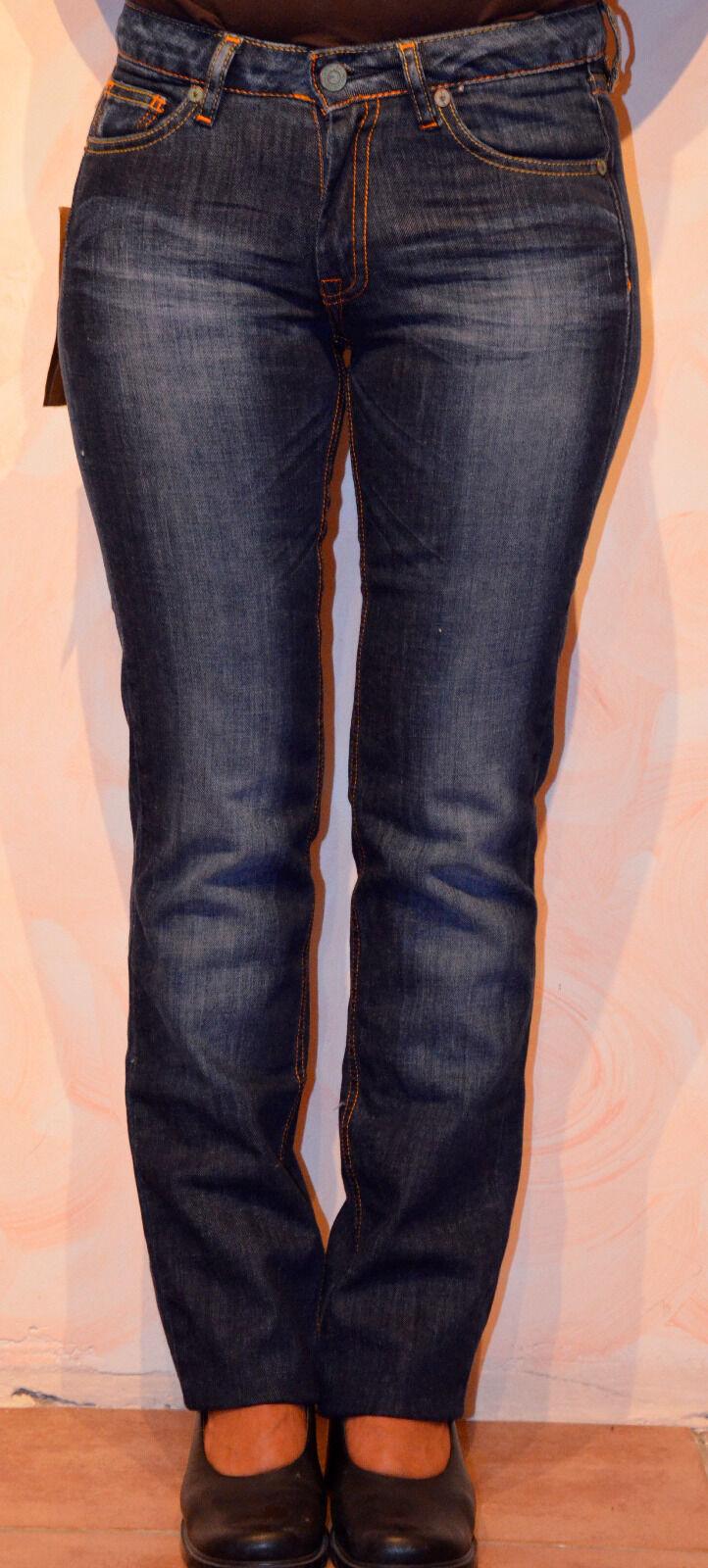Jeans woman le TEMPS DES CERISES model BASIC 302 Size W24 (34)   NEW