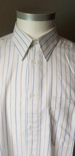 Misura righe affari; Orvis 44 ufficio Shirt Men's A maniche lunghe ZqwtCYw