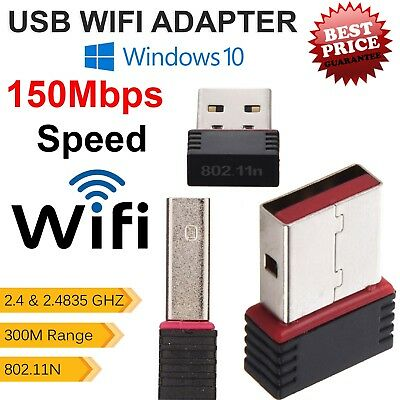 Adattatore Usb Wifi 150 Mbps Wireless 802.11 Bgn Lan 300m Range Di Rete Usb Dongle-