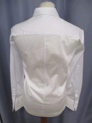 Eterna  5352 00 D708  Modern Classic  Hemdbluse weiß  Uni Stretch
