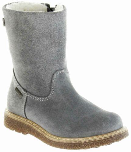 Richter Kinderstiefel Winter Schuhe grau Velour Warm TEX Mädchen 4750-242-6300