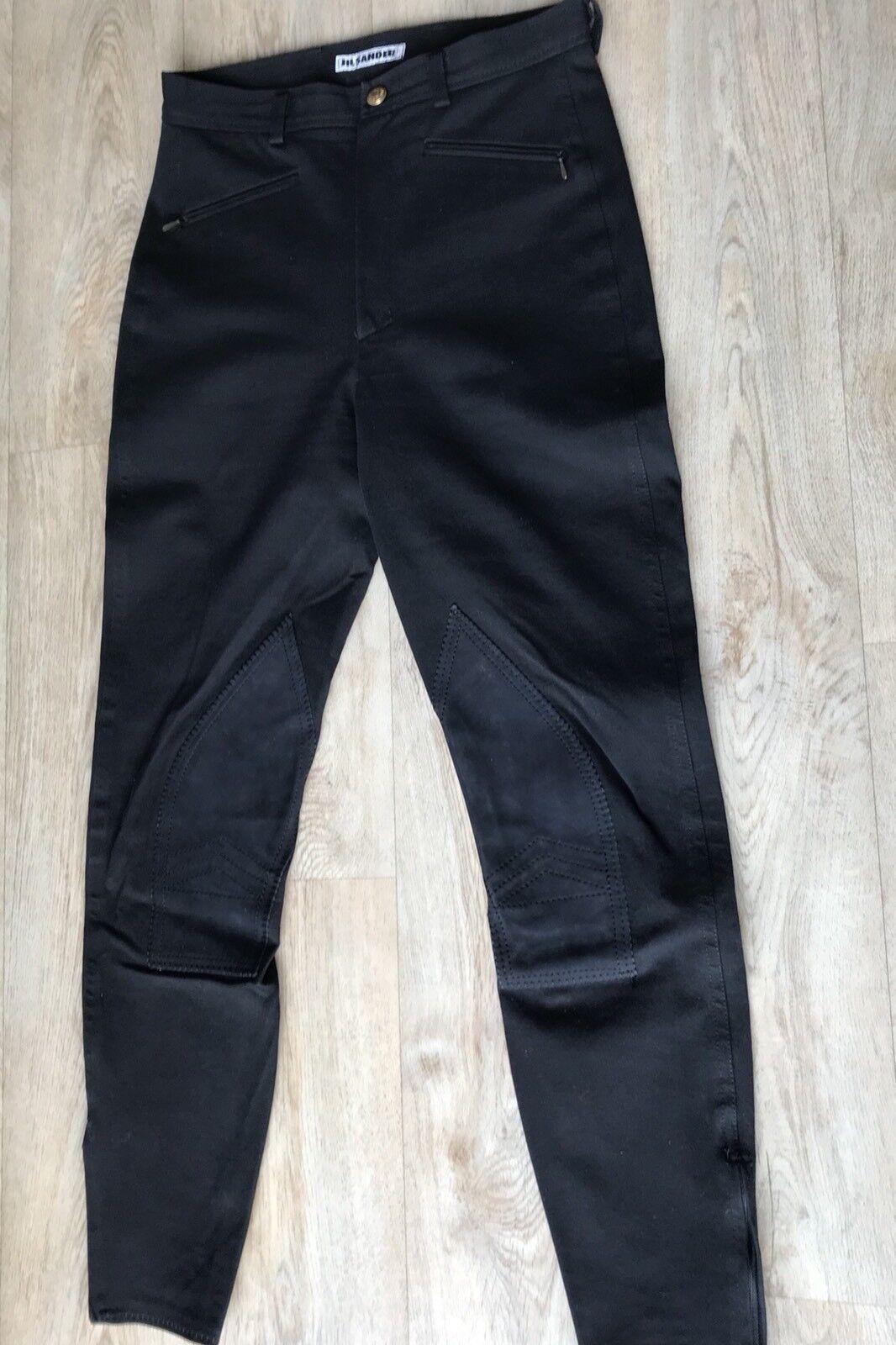 JIL Sander   -   Reiterhose  -  black  -  Größe 38
