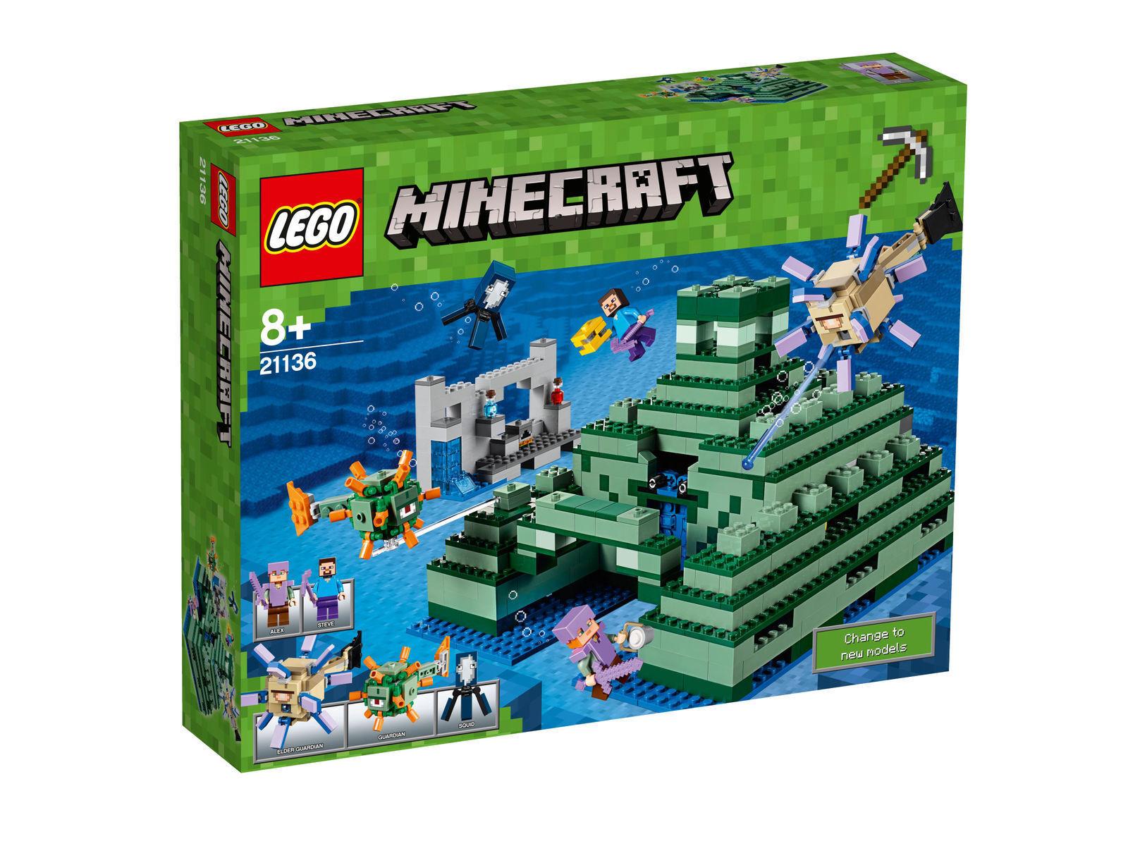 LEGO® LEGO® LEGO® Minecraft Das Ozeanmonument (21136) The Ocean Monument 0567fe