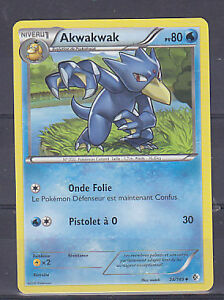 Akwakwak Reverse-N/&B Frontieres Franchies 35//149-Carte Pokemon Neuve France
