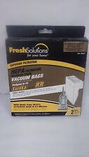 Fresh Solutions HEPA filtration Vacuum Bags Eureka style RR - 2 pack