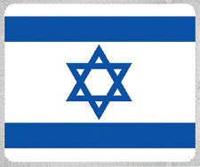 "Blanket Fleece Throw National Flag Israel 50""x60"" NEW with protective sleeve"