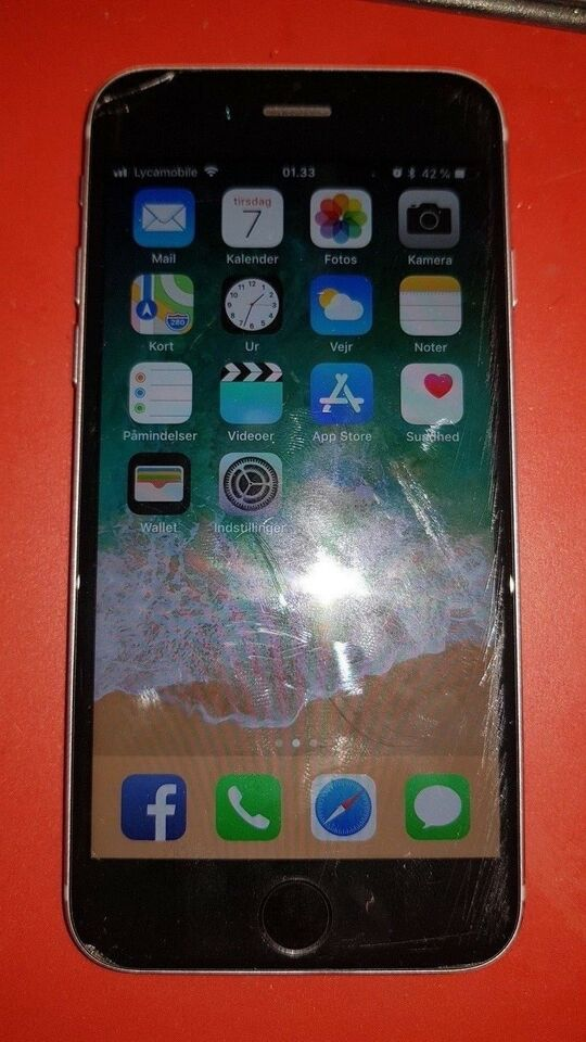 iPhone 6S, 64 GB, aluminium