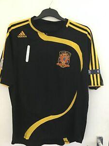 Le finali euro 2008 casillas portiere shirt Spagna Calcio Camicia XL CASILLAS No1